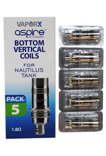 Aspire BVC Replacement Coils 1.8ohm - 5pck