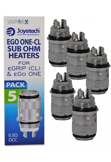 JoyeTech ONE CL Replacement Coil Heaters - 5pck