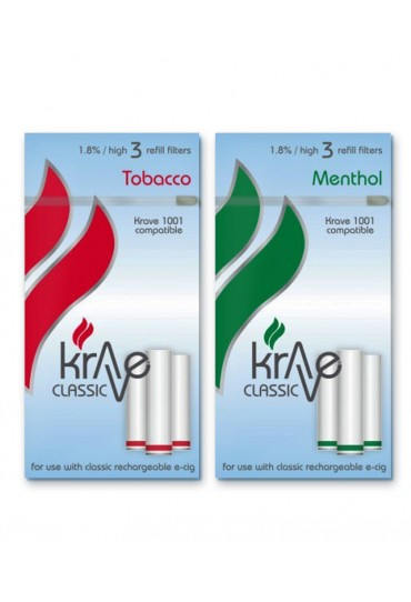 KRAVE CLASSIC Refill Filters - 3 Pack