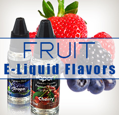 Fruit E-Juice Flavors