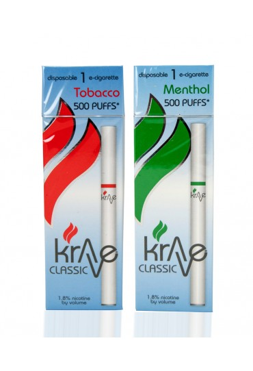 KRAVE 500 CLASSIC - 1 Pack Disposable E-Cigarette