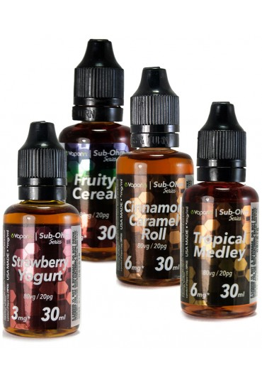 VaporIn 30ml SOS(Sub-Ohm Series) eJuice