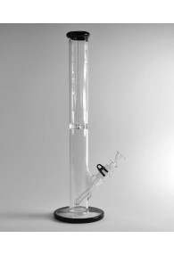 Grav Labs Tube - 16'' Glass Bong - White