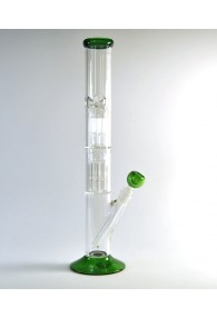 16'' 2 Chambers Straight Water Pipe